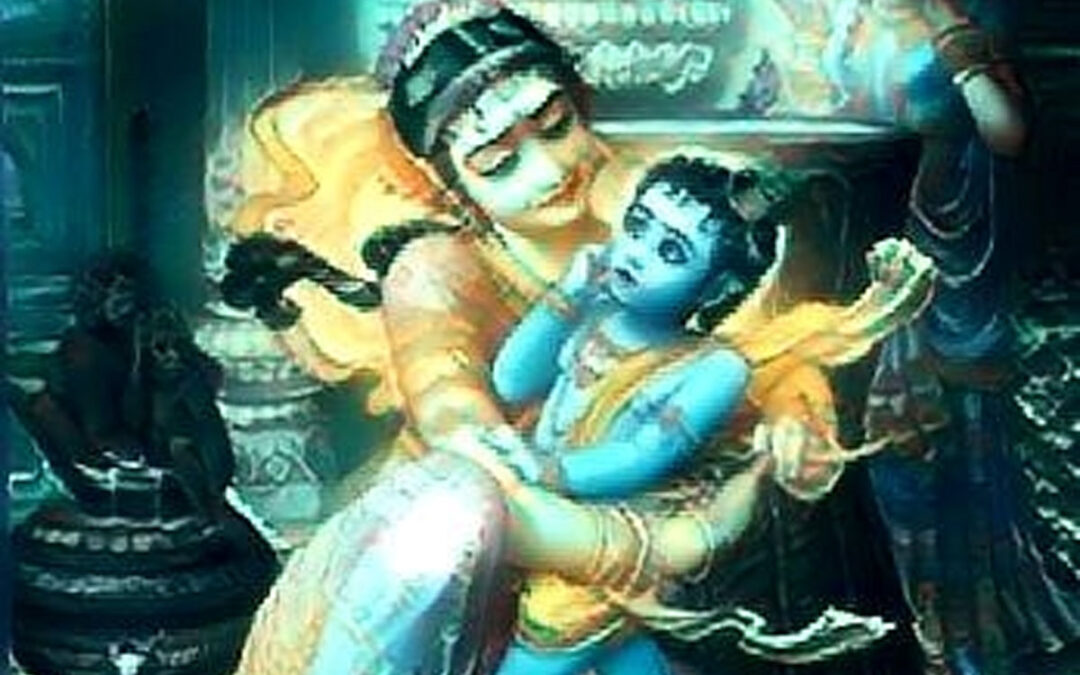 15-17.  Krishna Slapped by Yashoda