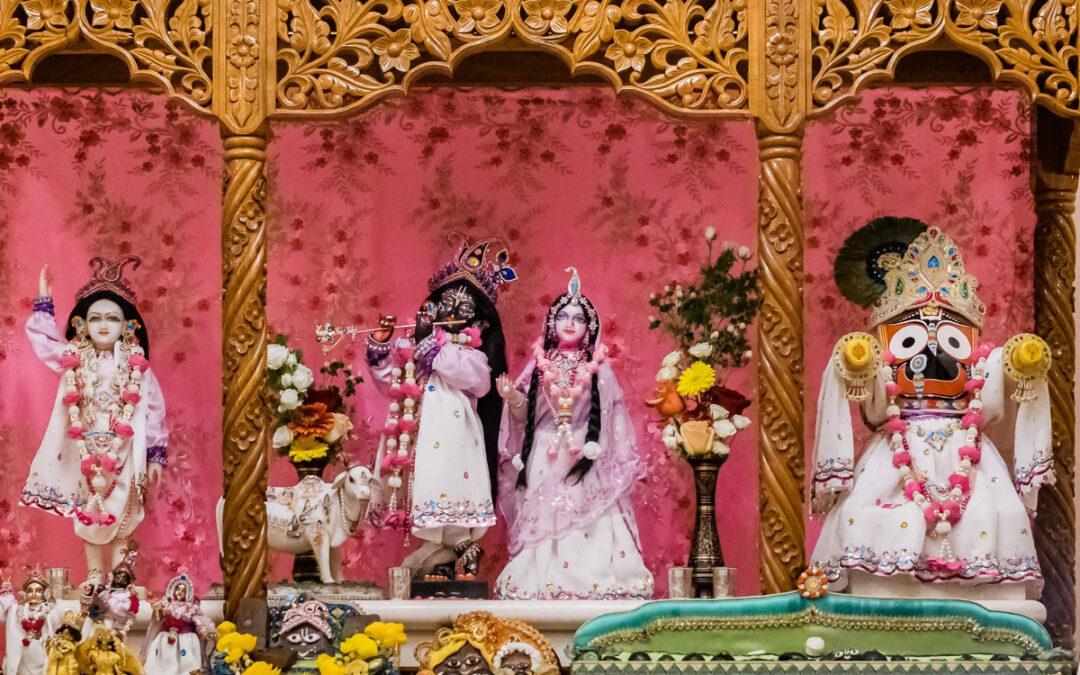 15-19. Janmastami in Vienna Temple, 1st part
