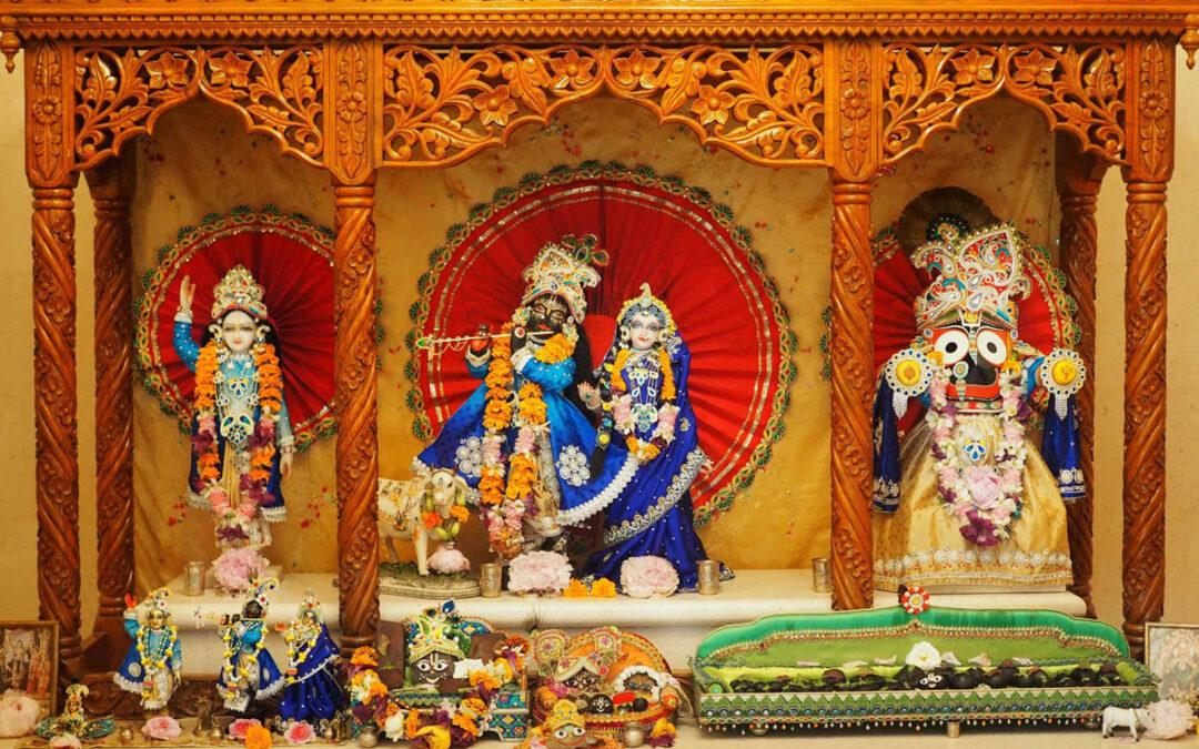 15-20. Janmastami in Vienna Temple, 2rd part