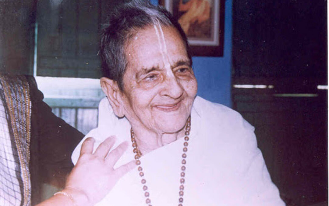 15-07 About Krishnamayi Devi Dasi