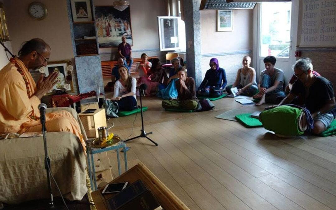 17-01 O čem hovořil Šrídhar Maharádž se Šrílou Prabhupádou?