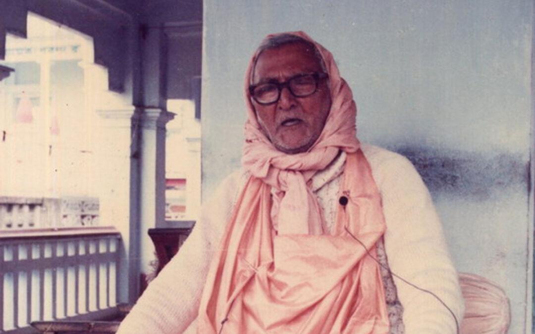 09-09. Bhakti Nandan Swami Maharaj se souvient de Srila Bhakti Raksaka Sridhar Dev Goswami Maharaj