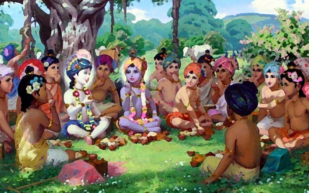 17-22 Sakha Bhava v linii Gaudiya