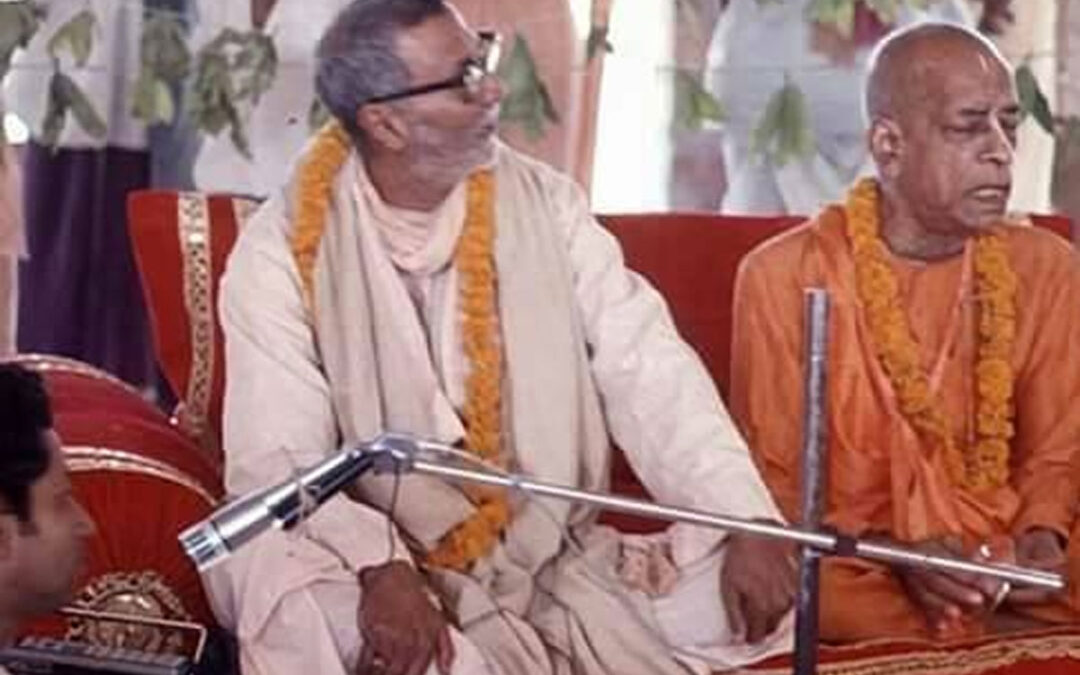 17-07 Byli Šrídhar Maharádž a Šrila Prabhupáda přátelé?