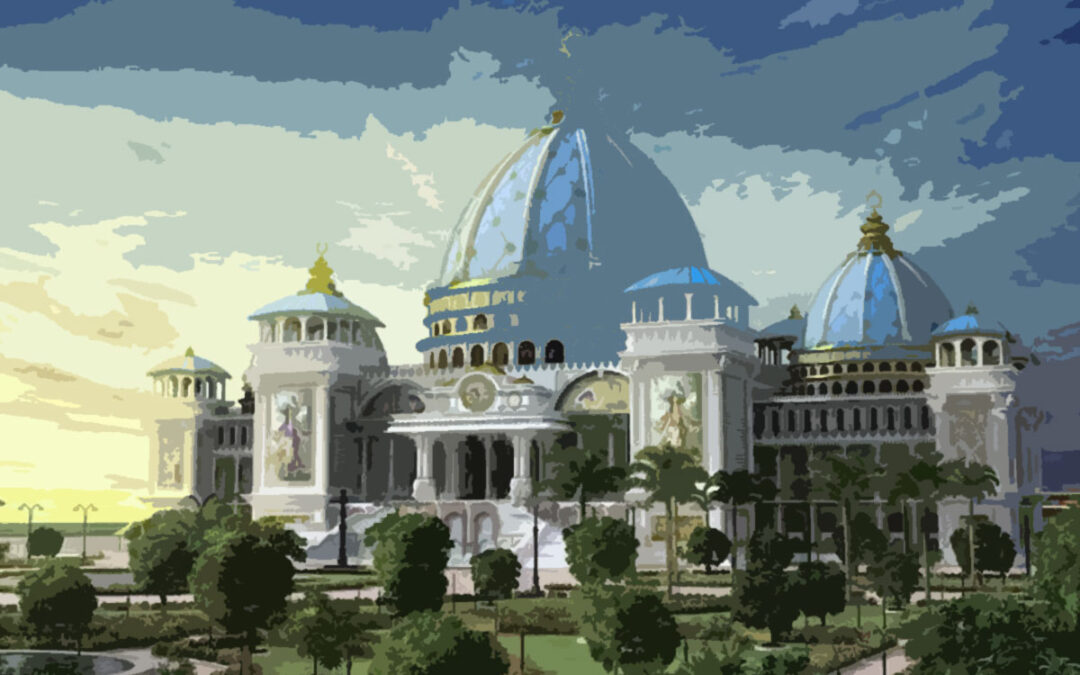 20-24 How Sridhar Maharaja Wanted Vedic Planetarium to Look Like?