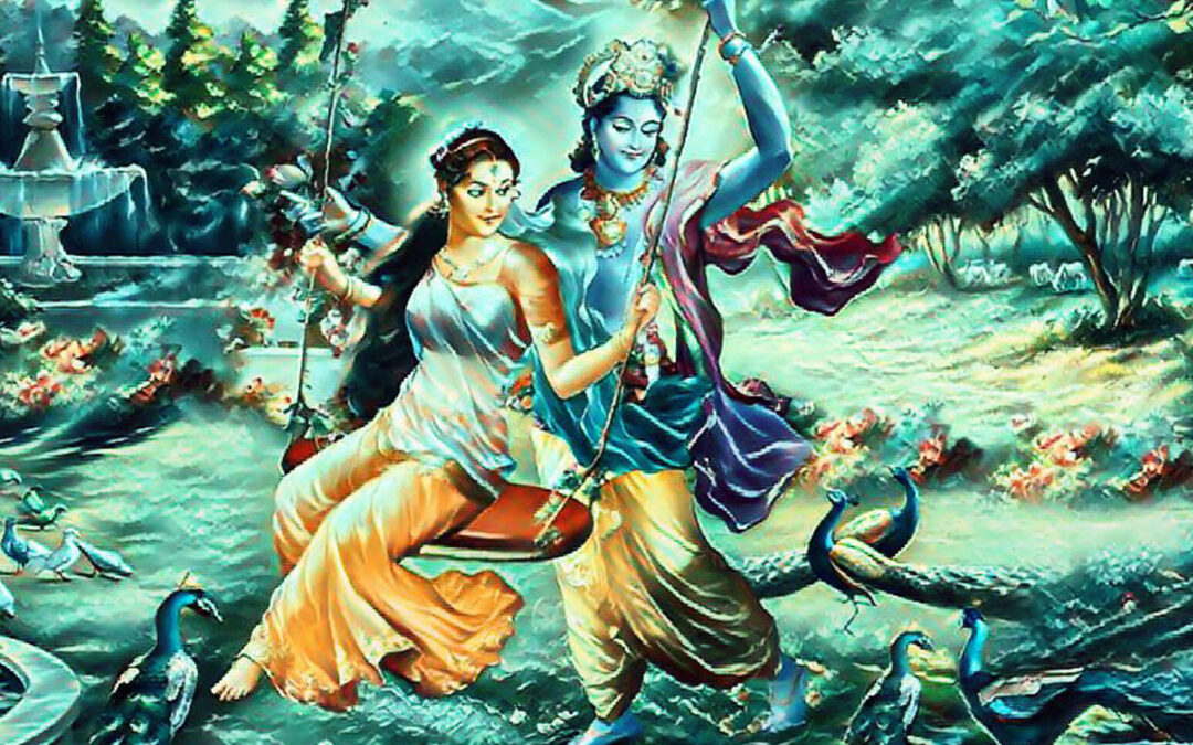21-16 Mystical Moonlight Jhulana Pastimes, Advent of Lord Balaram